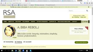 RSA profile